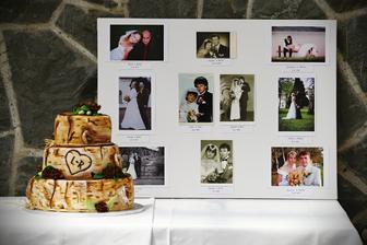Výborný svatební dort (sice nebyl vzhledově úplně podle představ, ale chtěla jsem marcipán a ne fondán..)