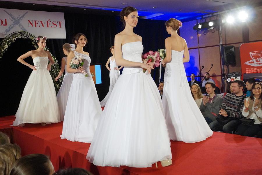 vavrinec - Módní přehlídka na Svatebním veletrhu 2015 v Diplomatu