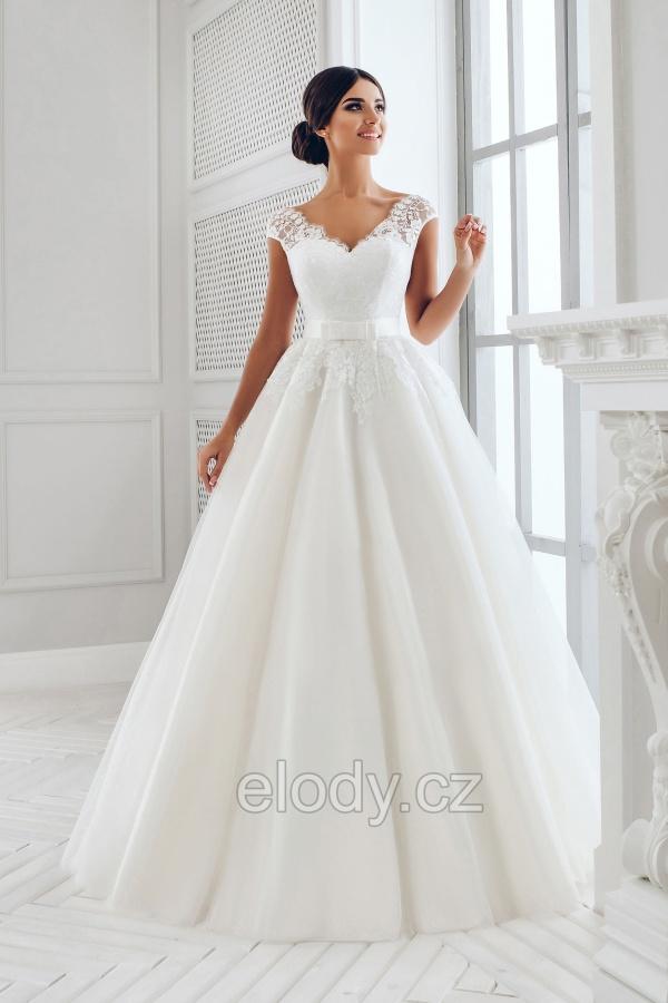 V nabídce máme nové svatební šaty od firmy ELODY - Obrázek č. 2