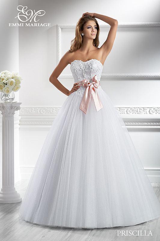 Opět pro Vás máme připravený nový model, tentokrát nádherné šaty značky EMMI MARIAGE - Obrázek č. 2
