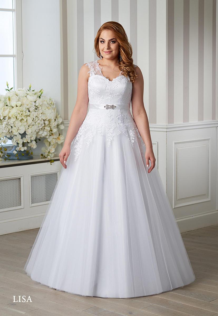 V salonu jsme pro Vás připravili krásné tylové šaty ve vel. 44 značky EMMI MARIAGE. Přijďte si je vyzkoušet a buďte krásná a jedinečná  :-) - Obrázek č. 1