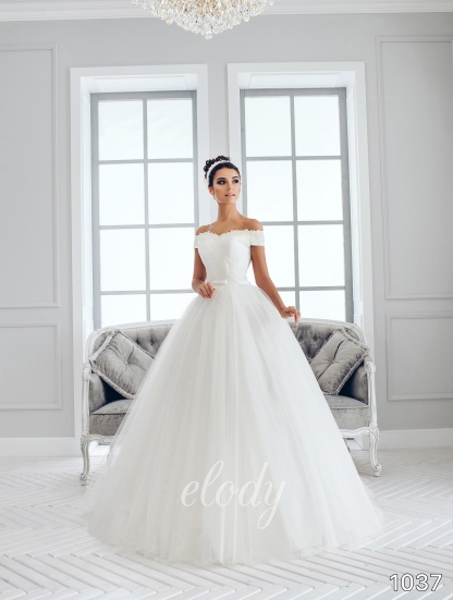 Svatební sezona 2018 se blíží. Přijďte si prohlédnout a vyzkoušet nové krásné šaty Elody. Rádi Vám pomůžeme s výběrem střihu, barvy i velikosti. - Obrázek č. 1