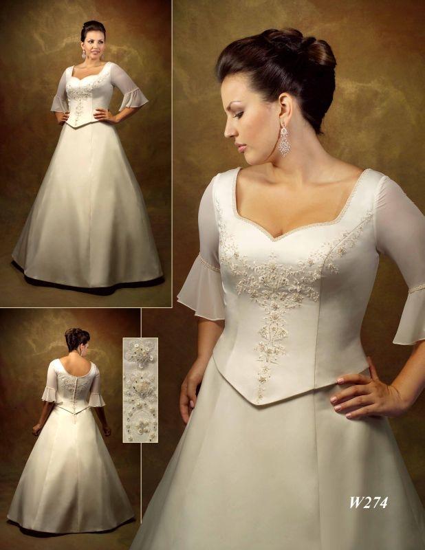 Výprodej svatebních šatů od 1500 Kč - Obrázek č. 17