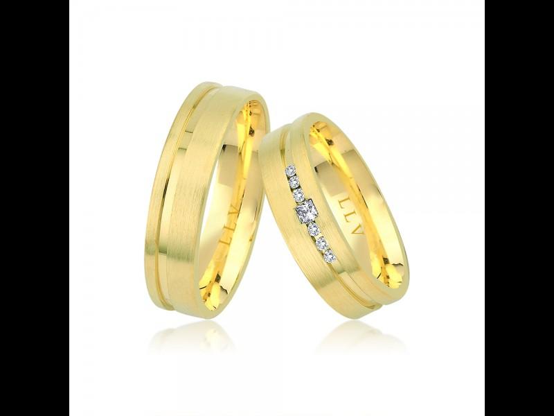 Nová kolekce zlatých snubních prstenů - Obrázek č. 2