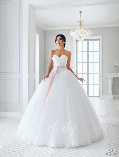 Nové svatební šaty Elody na prodej - Prodejní  cena 13200 Kč, vel. 36 -38