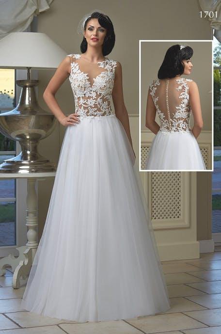 Na letní svatby lehké šifonové sukně s krajkovým živůtkem. Stačí si jen přijít vybrat. - Obrázek č. 2
