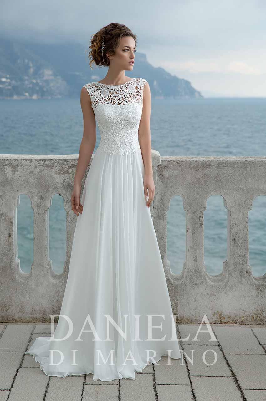 Na letní svatby lehké šifonové sukně s krajkovým živůtkem. Stačí si jen přijít vybrat. - Obrázek č. 3