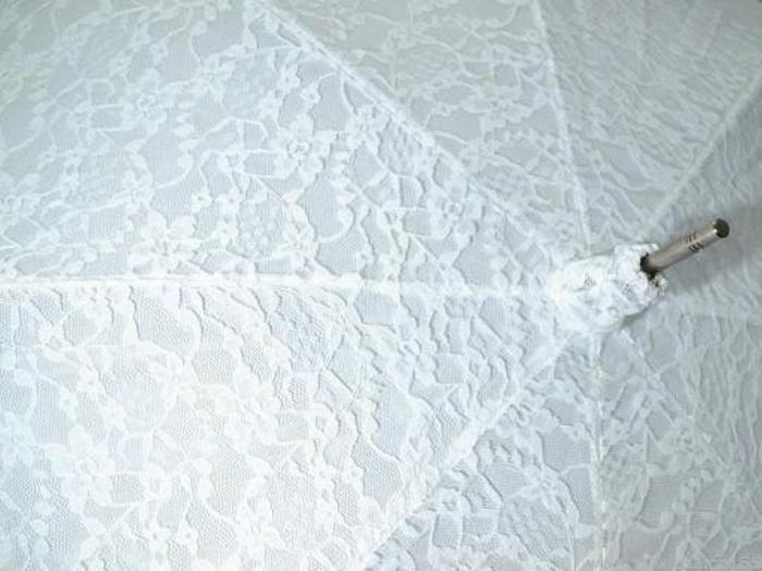 Svatební deštník krajkový - Obrázek č. 2
