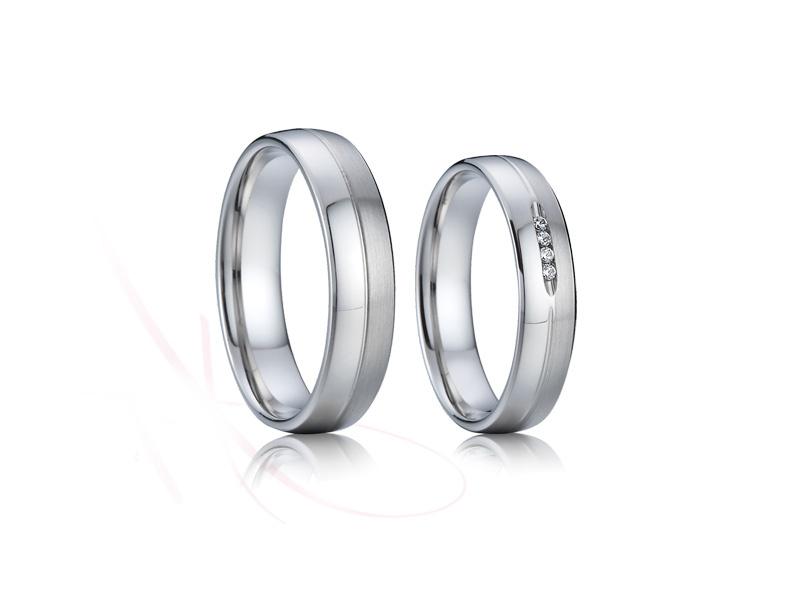 snubní prsteny z chirurgické oceli č.011 - Obrázek č. 1