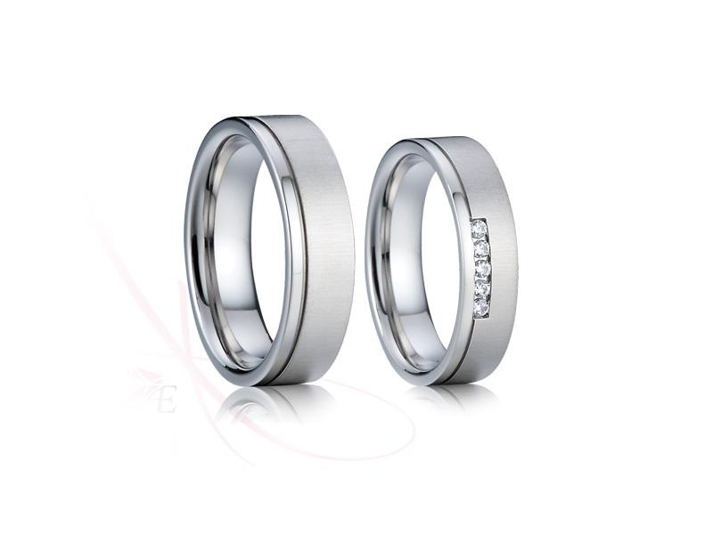 snubní prsteny z chirurgické oceli č.012 - Obrázek č. 1