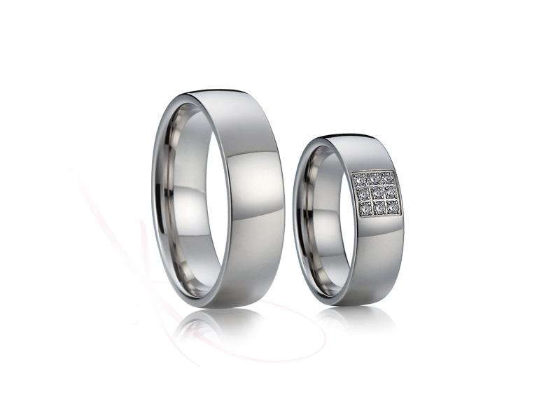 snubní prsteny z chirurgické oceli č.016 - Obrázek č. 1
