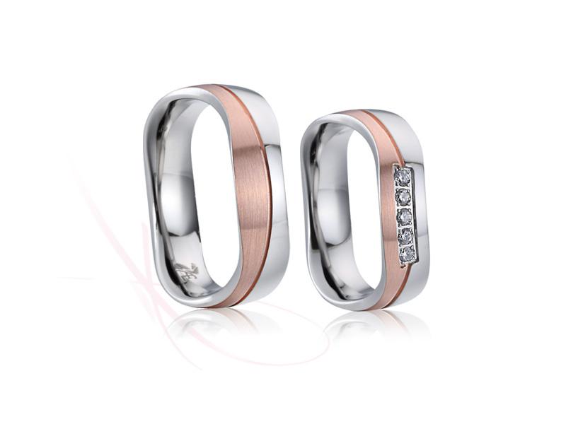 snubní prsteny z chirurgické oceli č.021 - Obrázek č. 1