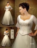 svatební šaty ve vel.52, 52