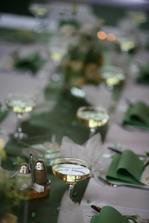 naše zelená výzdoba tabule