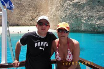 svatební cesta Řecko Zakynthos- plaž Navagio