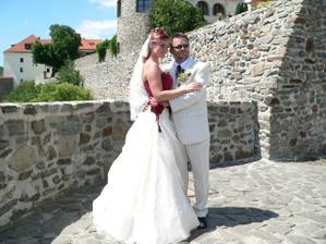Má oblíbená fotka na kadaňských hradbách :-))