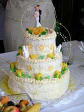 a dortík od mamky a taťky, děkujeme