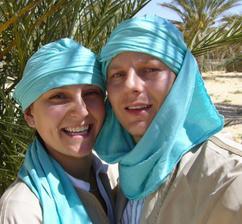 pár fotek ze svatební cesty - Tunis, ostrov Djerba