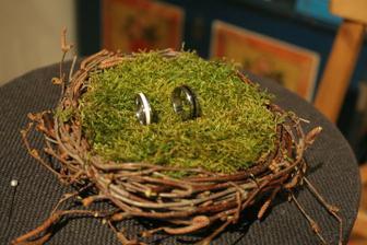 moje výroba hnízda na prstýnky