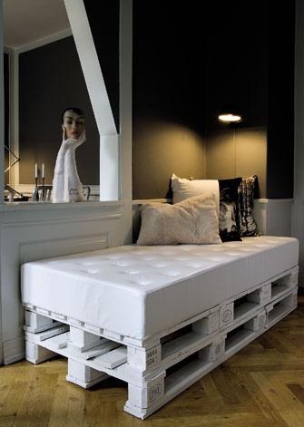 Inspiromat - a zase paletová postel