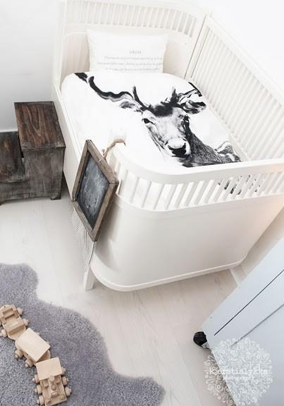 Snění o ležení - to je dětský koutek v ložnici dle mého gusta