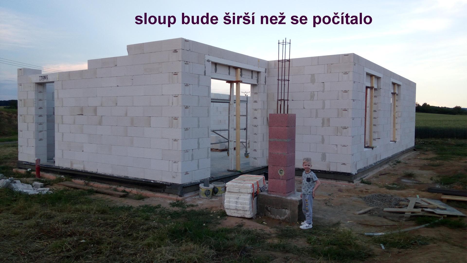 Krabička plná snů - hrubá stavba - Obrázek č. 12