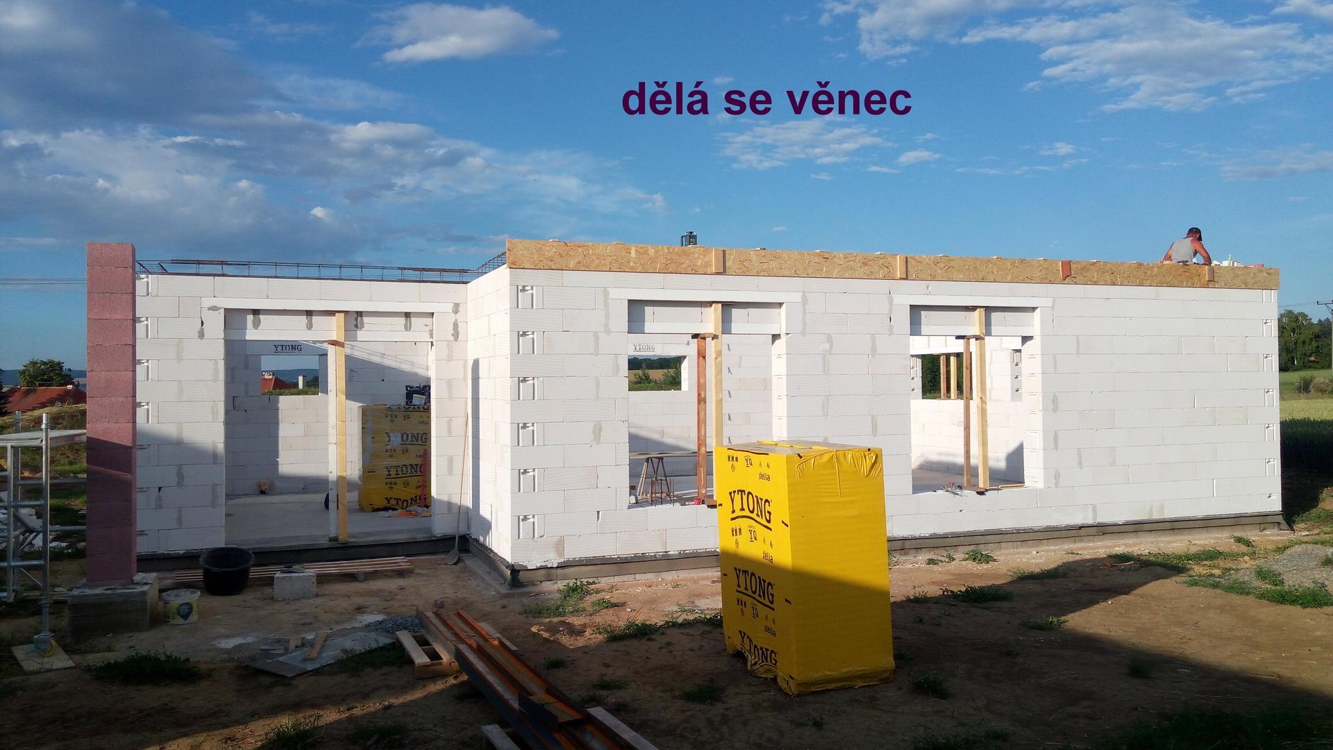 Krabička plná snů - hrubá stavba - Obrázek č. 13