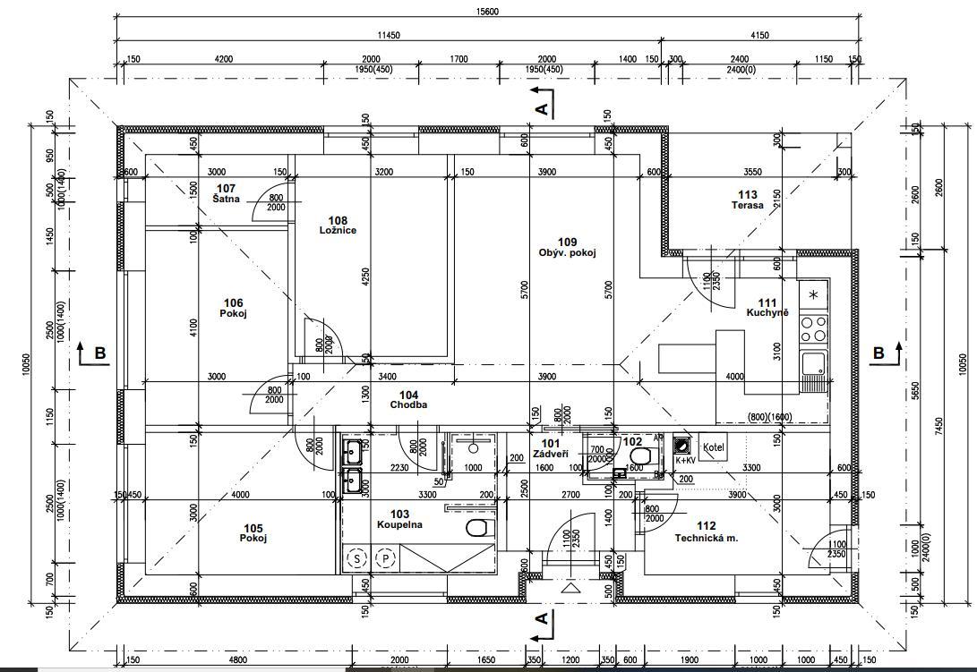 Krabička plná snů - hrubá stavba - Je tam několik menších změn, ale jinak je toto finální projekt