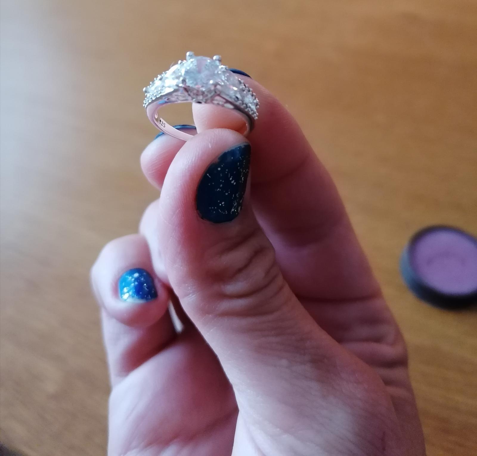 Strieborný prsteň - Obrázok č. 3