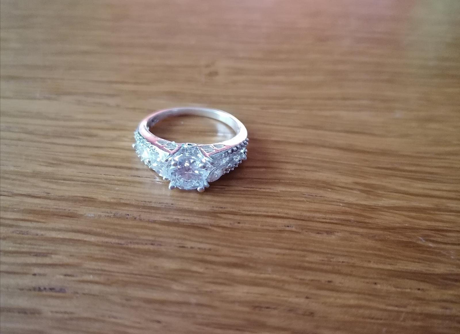 Strieborný prsteň - Obrázok č. 4