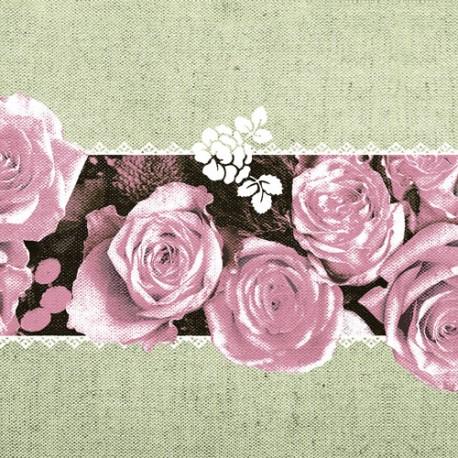 Servítky Mank Lovely Roses - Obrázok č. 1