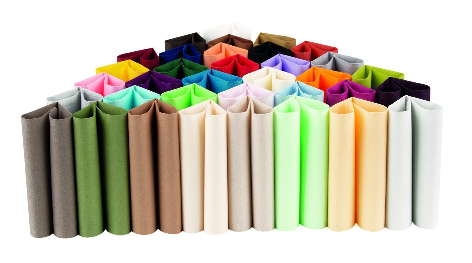Servítky jednofarebné zn. Mank - zelené farby - Obrázok č. 1