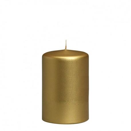 Sviečka valcová zn. Bolsius Zlatá, Strieborná - Obrázok č. 1