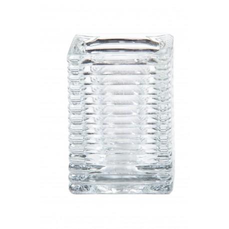 Svietnik sklenený Cube, zn. Mank - Obrázok č. 1