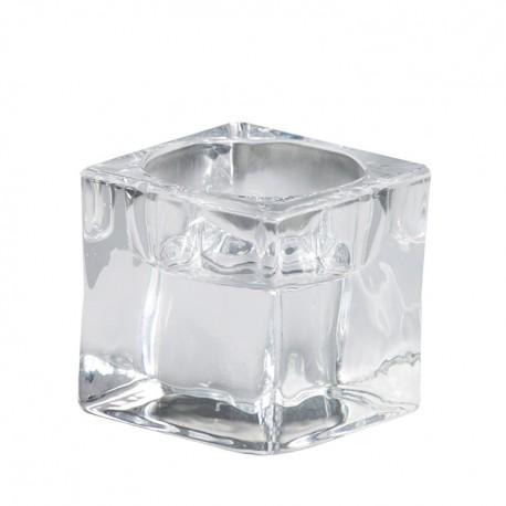 Svietnik sklenený zn. Bolsius Maxi  - Obrázok č. 1