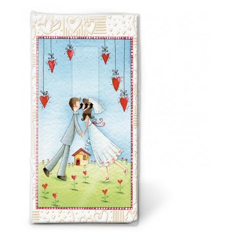 Papierové vreckovky Lovers forever - Paper+Design - Obrázok č. 1