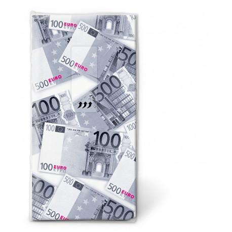 Papierové vreckovky Euro, - Paper+Design - Obrázok č. 1