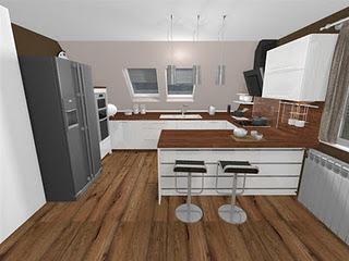Byvanie - Navrh na kuchynu