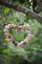 srdce ze zátek od vína