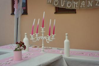 svíčky se krapet ohýbají pod tíhou vedra :-)