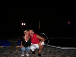my dvaja na dovolenke v Grécku