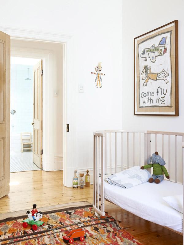 Elegantný mestský dom - Izba 5-ročného Sebastiana