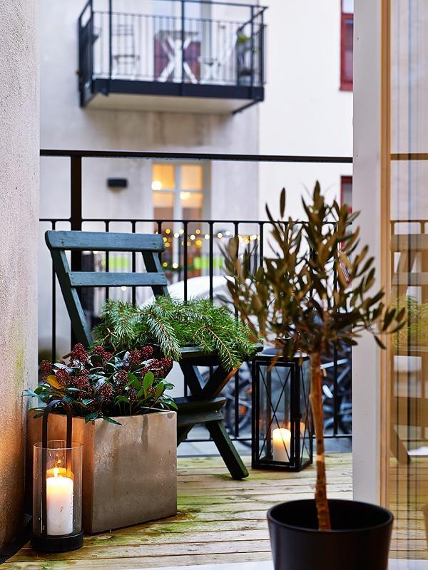Balkónovanie - lampáše a lucerny