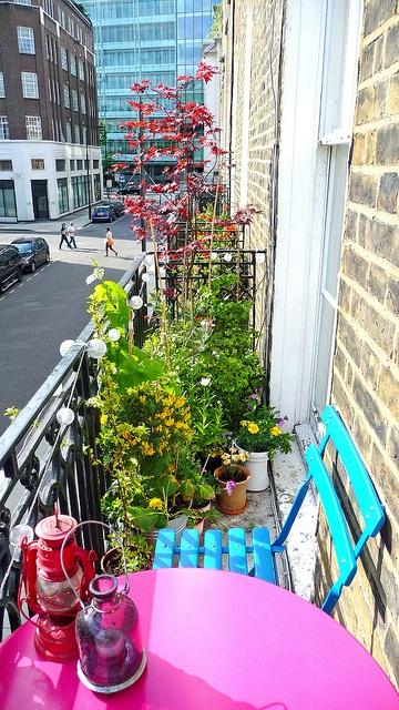 Balkónovanie - veselý mini balkónik