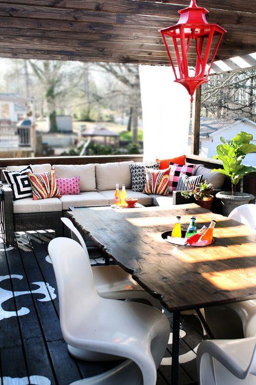 Balkónovanie - ak je váš balkón už skôr terasou, dá sa to aj takto :)