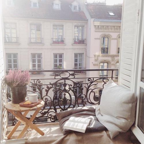 Balkónovanie - ráno