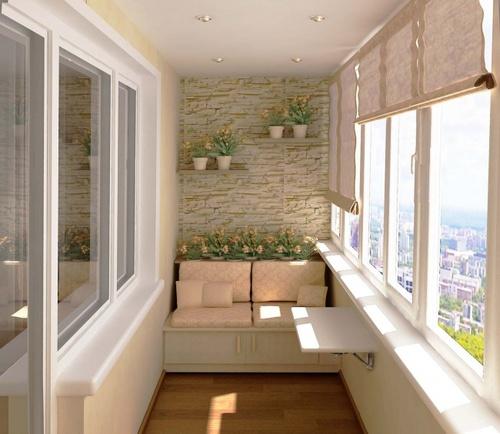 Balkónovanie - na pomedzí interiéru a exteriéru