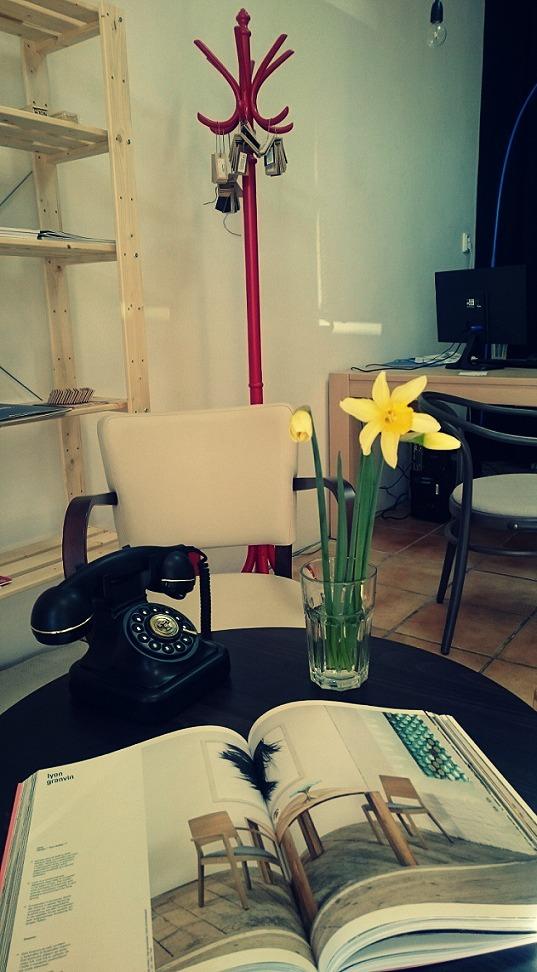 My z CPS Interiér - V práci sme si spravili jar a od zajtra aj voľno. Dnes nás na Bratislavskej 21 nájdete klasicky do 17:00, potom až v utorok 7.apríla ;)