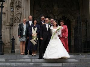 s nasimi drahymi rodicmi a hlavnymi svedkami :))