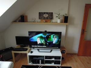 obývací pokoj před
